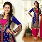 Fantastic Indian Shraddha Kapoor's Brides Trends  Anarkali Fashion 2014 (4)