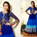 Fantastic Indian Shraddha Kapoor's Brides Trends  Anarkali Fashion 2014 (6)