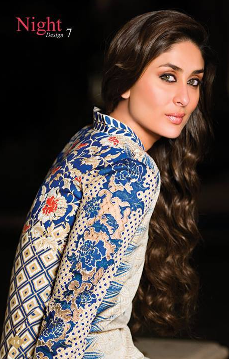 Faraz Manan Wonderful Kareena Crescent Particular Dresses Gallery 2014 (4)