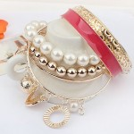 Gold Plated Beads Eid Vogue Females Bracelets Variety 2014 (4)