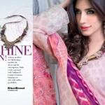 Gul Ahmed Females Eid Time Clothes Selection 2014 (4)