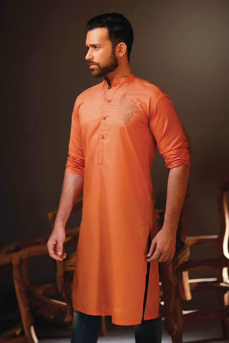 Guys Dresses Specific Eid Morning Variety 2014 By Hadiqa Kiani (1)