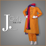 Junaid Jamshed Females Eid Sequence 2014 For Summer (2)