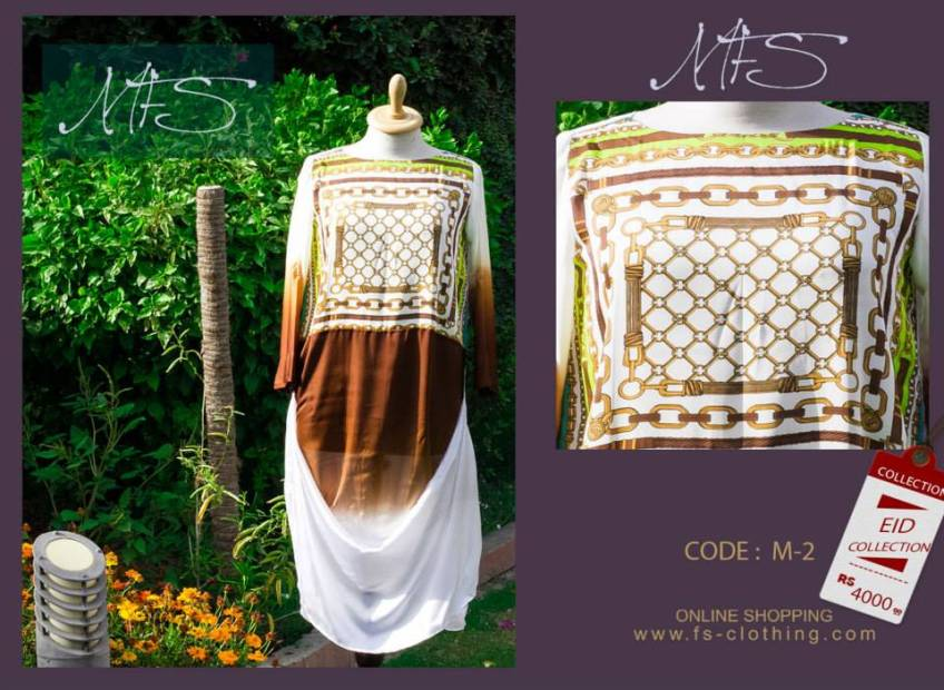Ladies Eid Occurrence Garments 2014 By Mahreen Fahad Sheikh (1)