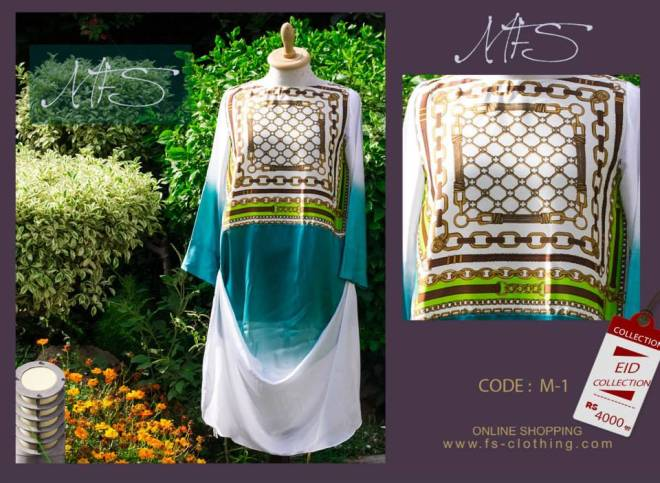 Ladies Eid Occurrence Garments 2014 By Mahreen Fahad Sheikh (4)