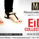 Mausummery Wonderful Eid Shoes Sequence 2014 For Young Women (4)