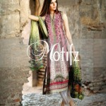 Motifz Eid Lawn Dresses Collection 2014 4
