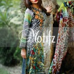 Motifz Eid Lawn Dresses Collection 2014 5
