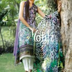 Motifz Eid Lawn Dresses Collection 2014 7