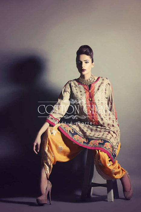Natural Cotton Ginny Eid Beautiful Wonderful Assortment 2014 for Females (4)