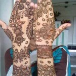 New Bridal Mehandi Fashions Specially For Women (1)