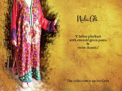Nida Ali Deluxe Attractive Wear Garments Variety 2014 (2)