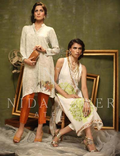 Nida Azwer - Eid Luxury Pret Collection 2014 1
