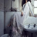 Nida Azwer Party Wear Dresses Collection 2014 1.