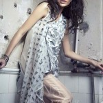 Nida Azwer Party Wear Dresses Collection 2014. 2