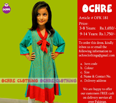 OCHRE Kids Wear  Eid Collection  2014 29