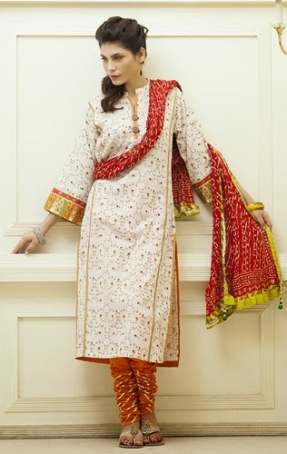 Original Kayseria Highs & Lows Nice Eid Apparel Choices 2014 For Girls (4)