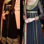 Particular Eid Superstars Anarkali Outfits 2014-15 (3)