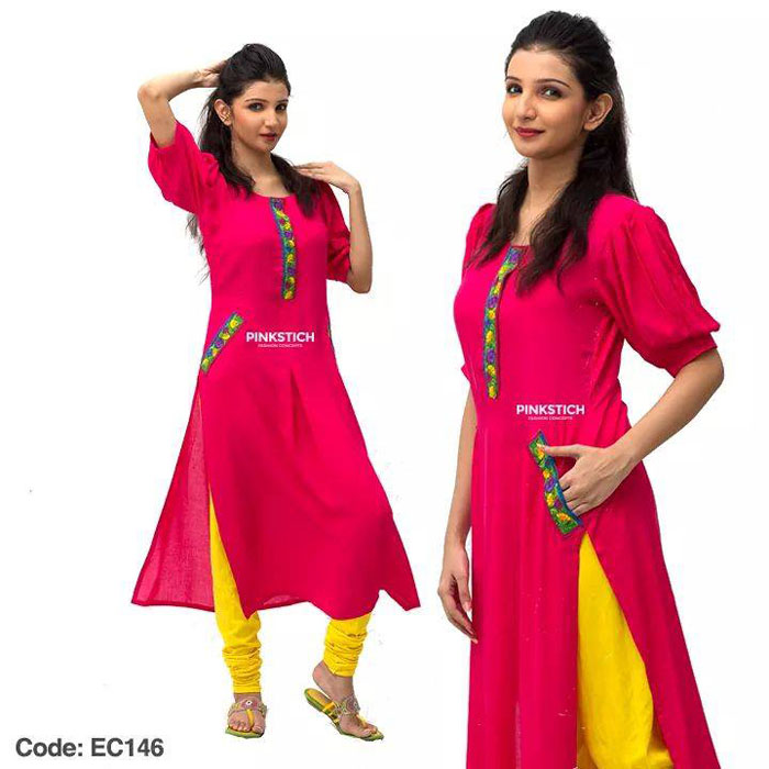 Pinkstich Stunning Fresh Eid ul Fitr Clothes 2014 for Ladies (6)