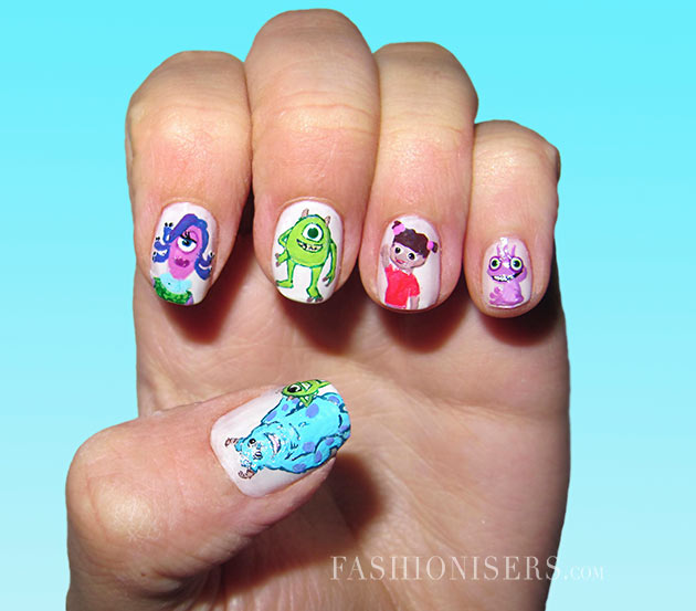 Pleased Animation Encouraged Nail Creations 2014 for Ladies (6)