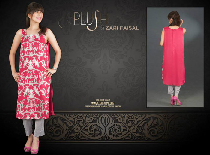 Plush Eid Fine Trendy Series 2014 through Zari Faisal (6)