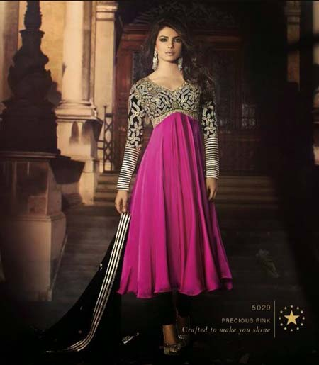 Pretty Priyanka - Semi stitched suits Collection 2014 1