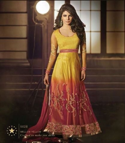 Pretty Priyanka - Semi stitched suits Collection 2014