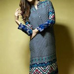 Satrangi Pret Wear Dresses Collection 2014