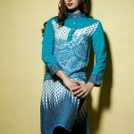 Satrangi Pret Wear Dresses Collection 2014 2