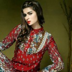 Satrangi Pret Wear Dresses Collection 2014 3
