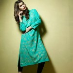 Satrangi Pret Wear Dresses Collection 2014 4