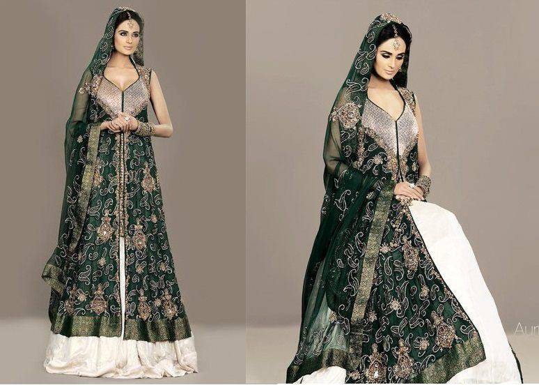 Sharara for Eid Celebration & Marriage Models Completely (2)
