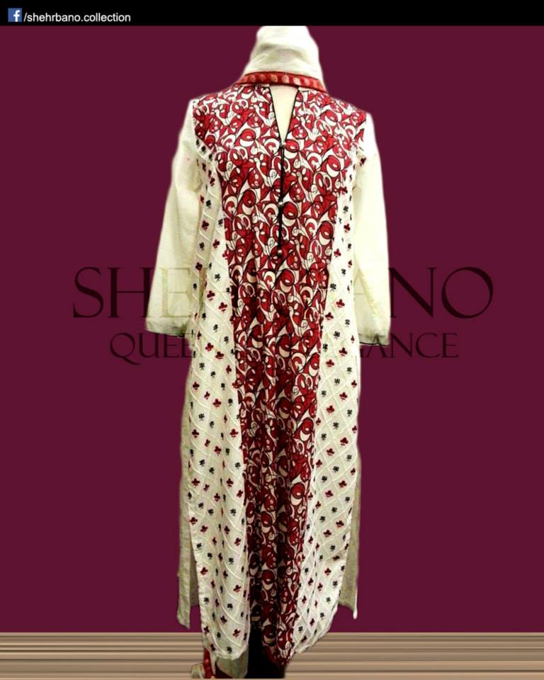 Shehrbano Brand New Introduction Eid Outfits Assortment 2014 For Girls (2)