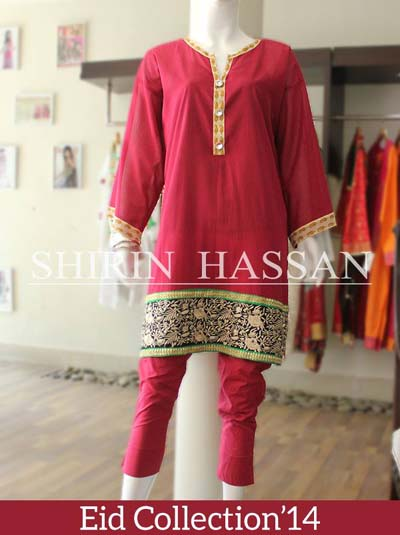 Shirin Hassan Eid Dresses Collection 2014 1