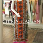Shirin Hassan new eid dresses collection 2014 1