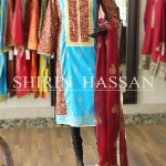 Shirin Hassan new eid dresses collection 2014 13