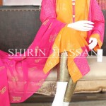 Shirin Hassan new eid dresses collection 2014 16