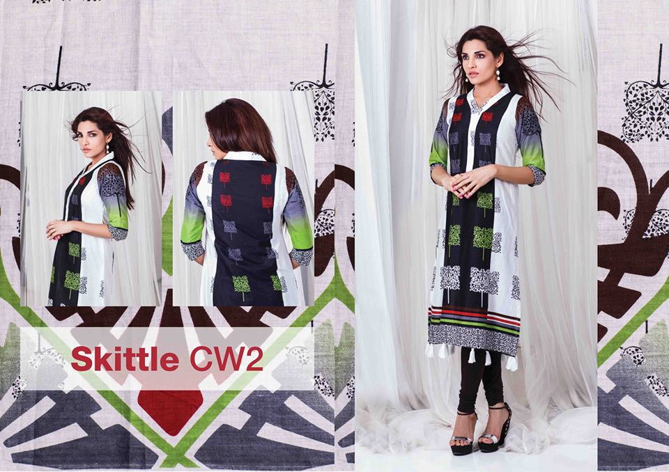 Sitere Stunning Lawn Outfits Selection 2014 For Eid Day (2)