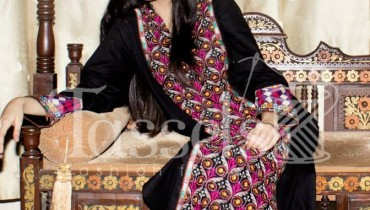 Tassels New Eid Dresses Collection 2014 1