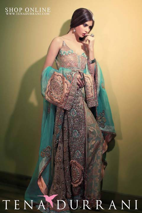 Tena Durrani Eid Classy Garments Accumulation 2014 For Young Girls (7)