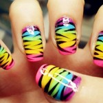 Top Fashionable Gorgeous Nail Styles for Females 2014 (1)