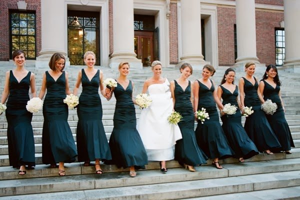 Top Lovely Brides Outfits For Big Day Celebration 2014 (4)