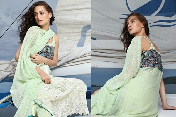Valuable Outstanding Firdous Eid Celebration Excellent Dresses 2014 (2)