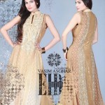 Vasim Asghar Party Wear Dresses Collection 2014 1