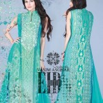 Vasim Asghar Party Wear Dresses Collection 2014 2