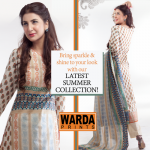 Warda Designer dresses colleciton 2014 1