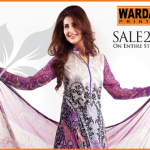 Warda Designer dresses colleciton 2014 12