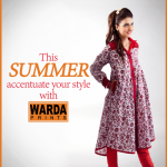 Warda Designer dresses colleciton 2014 8