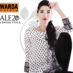 Warda Designer dresses colleciton 2014 9