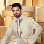 Yellow Eid Apparel Storing 2014 for Boys and Brides (5)